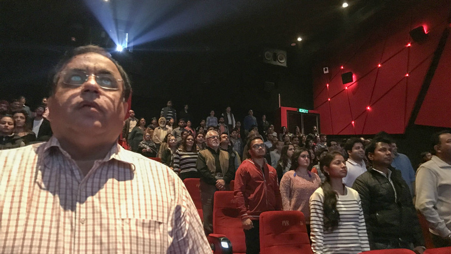 Indian Theater National Anthem - Getty - H 2016