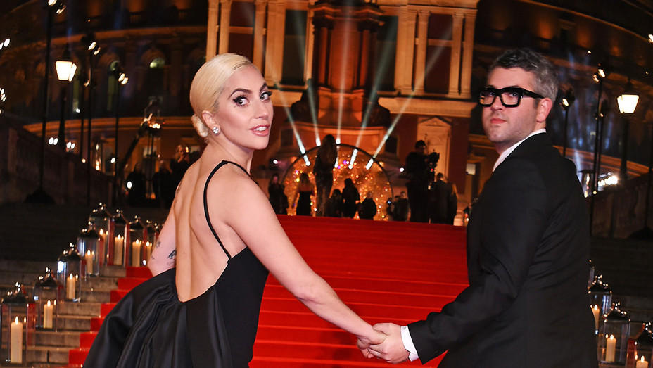 Lady Gaga and designer Brandon Maxwell- The Fashion Awards 2016 -Getty-H 2016