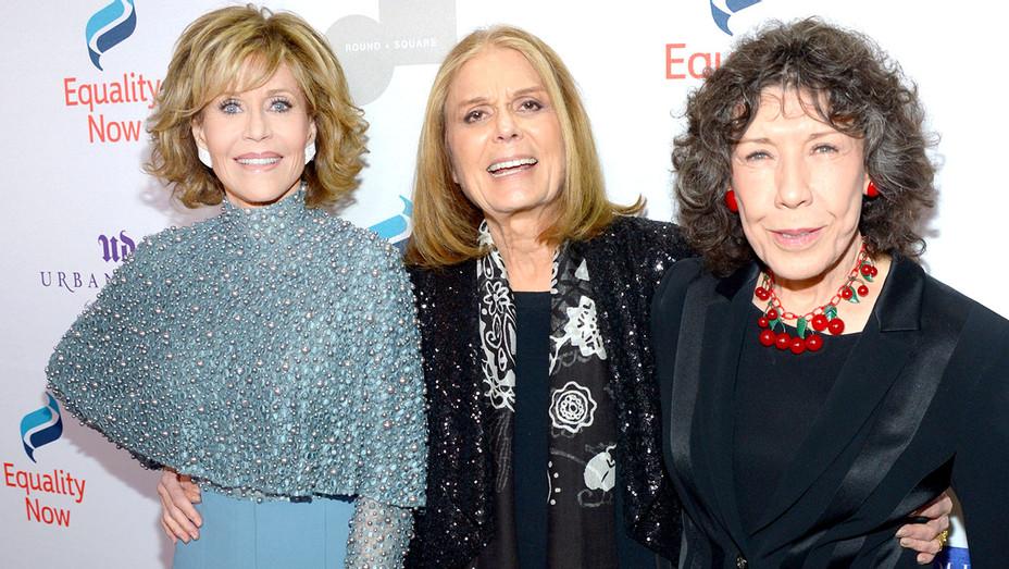 Jane Fonda -Gloria Steinem -Lily Tomlin -Equality Now's Gala-Getty-H 2016