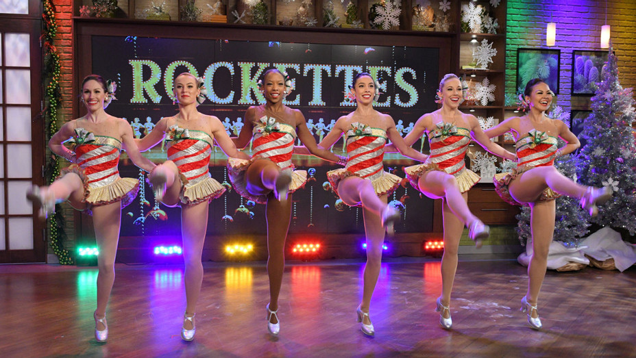 Rockettes on ABC's 'The Chew' - Getty - H 2016