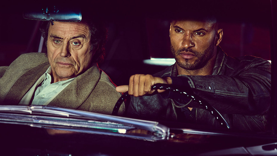 New and Returning Shows for 2017  - American Gods - Ian McShane and Ricky Whittle - H 2016