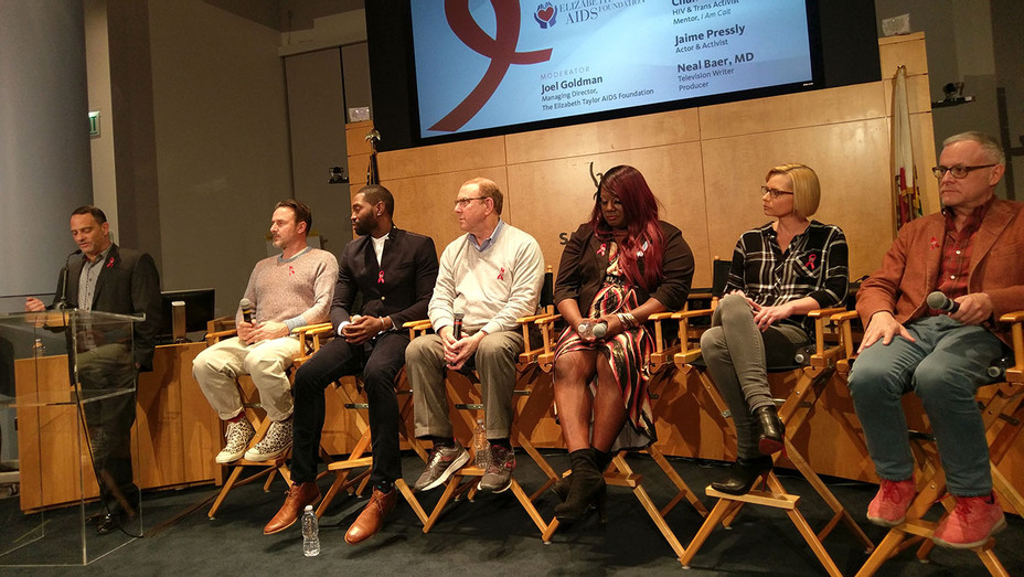 Elizabeth Taylor Foundation SAG-AFTRA HIV-AIDS Panel - Publicity-H 2016