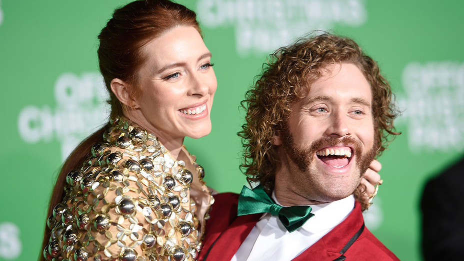 Kate Gorney and T. J. Miller - Getty - H 2016