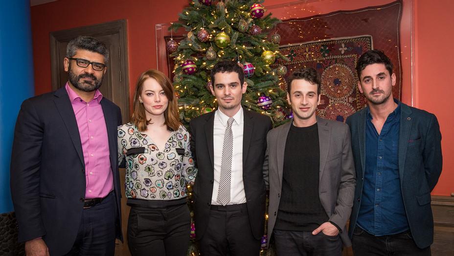 La La Land London Panel, Damien Chazelle, Emma Stone, Justin Hurwitz - H - 2016