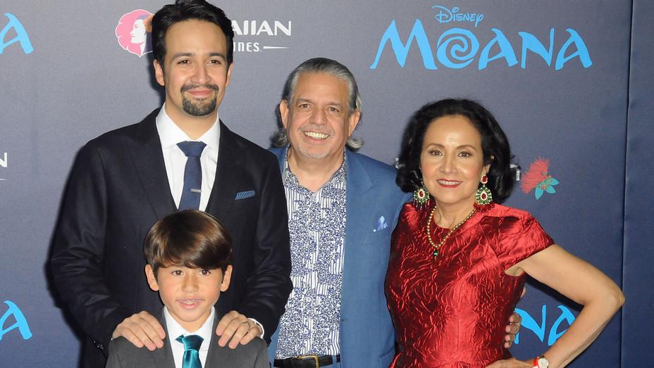 Lin-Manuel Miranda and family_getty - H 2016
