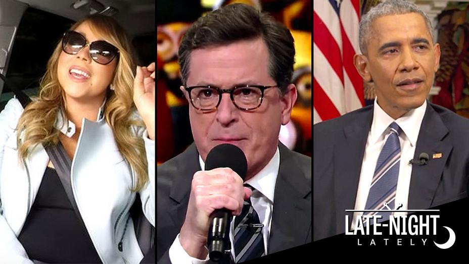 Late-Night Lately Dec. 17 -Mariah Carey - Colbert - Obama -H 2016