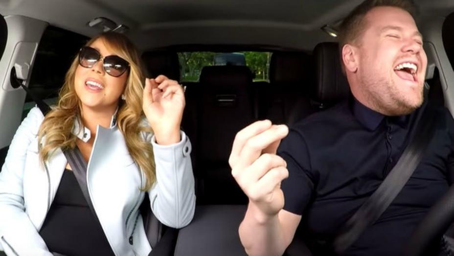 Mariah Carey and James Corden — H 2016