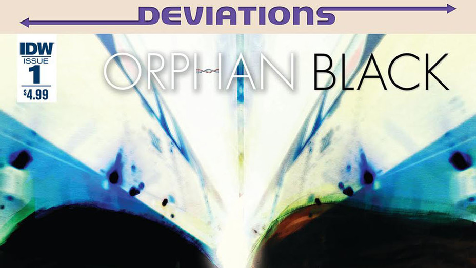 Orphan Black Deviations cover- Cat Staggs - IDW Publishing - P 2016