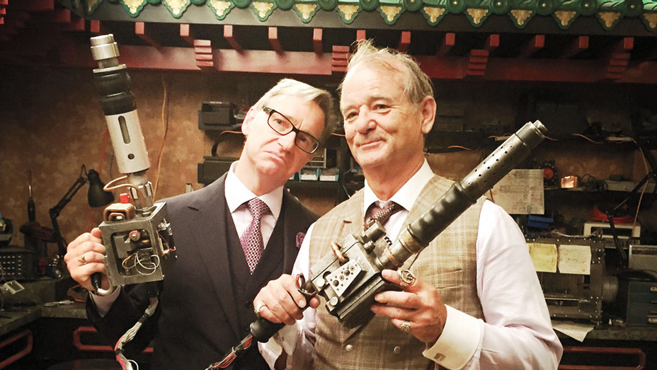 Paul Feig Bill Murray - Publicity - H 2016