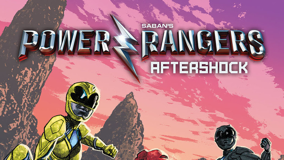 Power Rangers Aftershock Cover - Publicity - P 2016