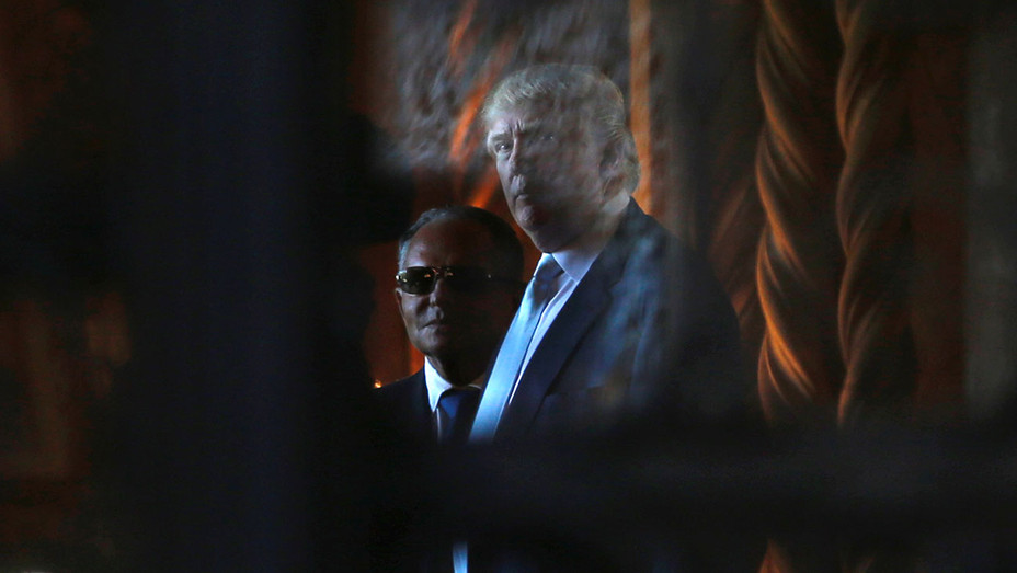 Donald Trump and  Isaac Ike Perlmutter -December 28, 2016-ONE TIME USE- Newscom -H 2016
