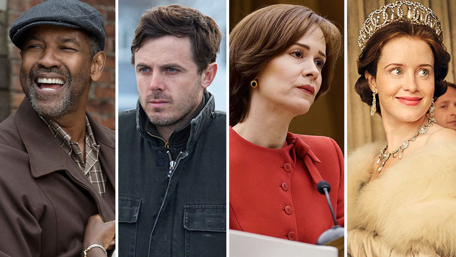 Fences, Manchester by the Sea, People v. oj and The Crown- Split-Publicity 2 - H 2016