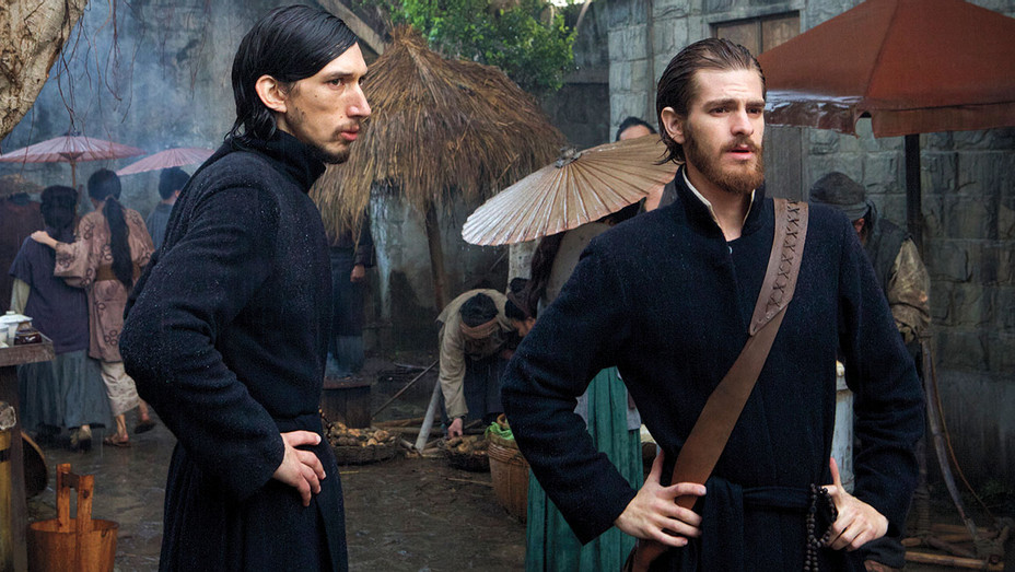 Silence - Priest costumes worn by Adam Driver and Andrew Garfield - Publicity-H 2016