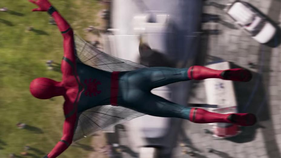 Spider-Man Homecoming Tease Grab - H 2016
