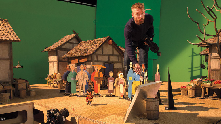 How 'Kubo and the Two Strings' Merged Stop-Motion Animation and 3D Printing (Plus a 400-Pound Puppet)