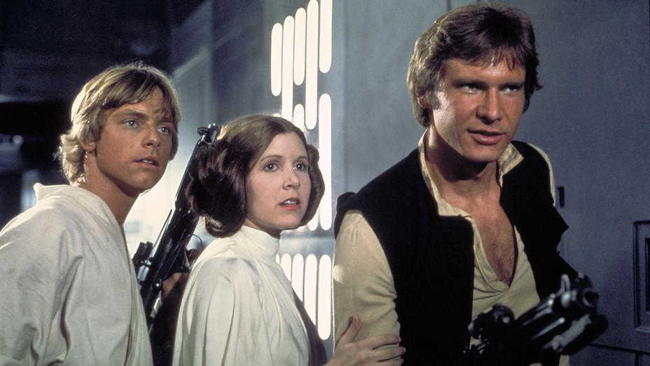 Star Wars Episode 4 Carrie Fisher Still - Photofest - H 2016