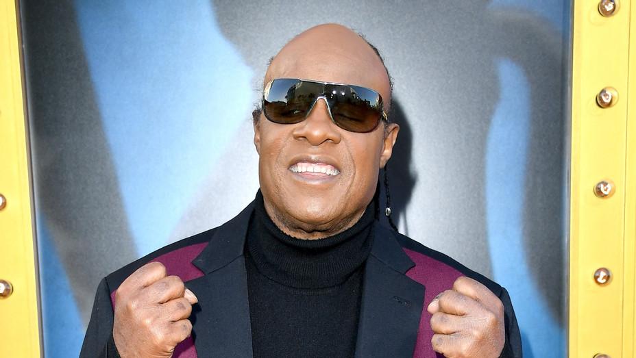 Stevie Wonder Sing Premiere - Getty - P