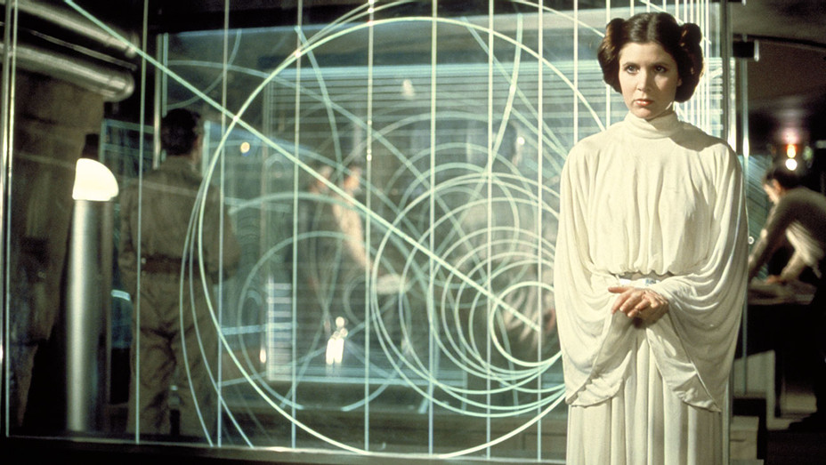 Star Wars (1977) - White dress- Carrie Fisher (as Princess Leia Organa) - Photofest-h 2016