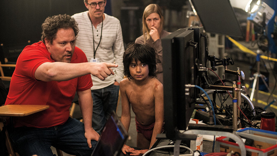 The Jungle Book BTS - Publicity - H 2016