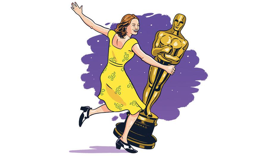 Oscars -La La Land -Illustration by Kyle Hilton -H 2016