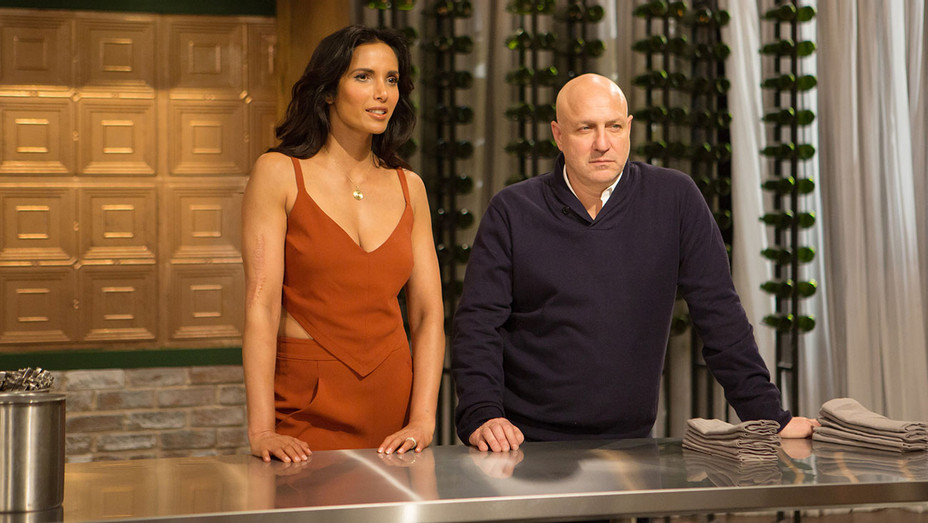 TOP CHEF - Padma Lakshmi Tom Colicchio - Still - H - 2016