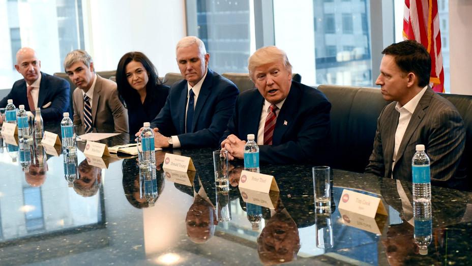 Trump tech summit Getty 2016 - H