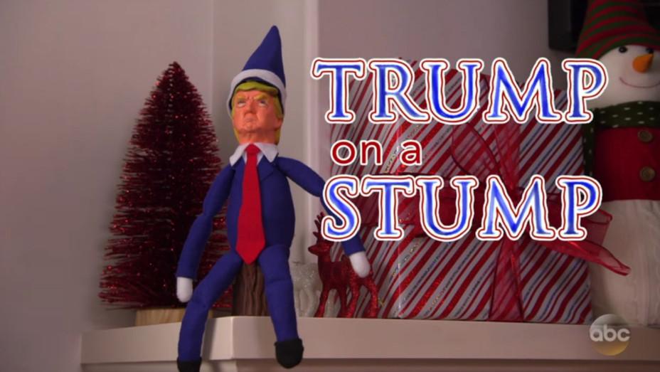 Jimmy Kimmel Trump on a Stump - H 2016