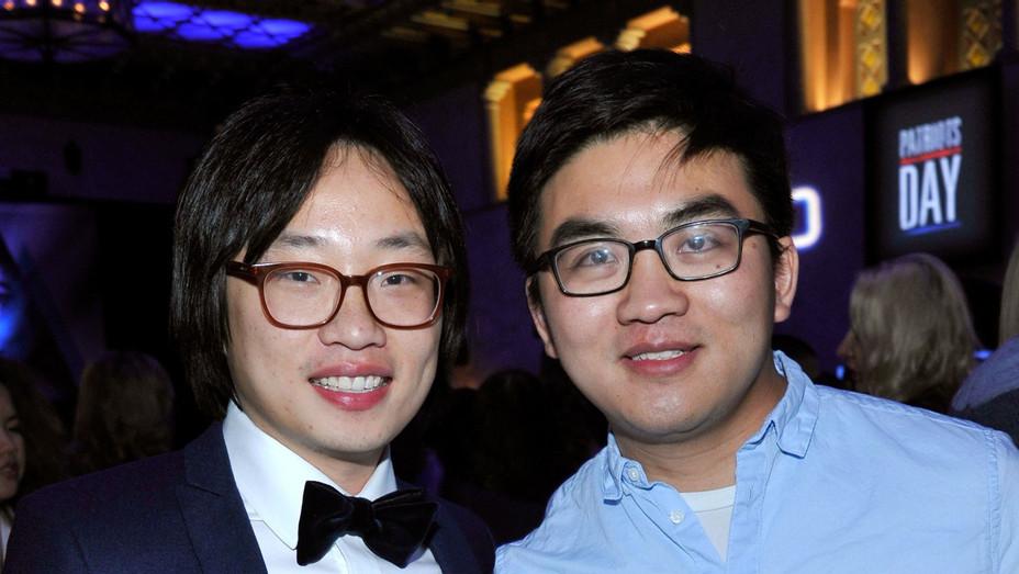 Jimmy O. Yang and Dun Meng at 'Patriots Day' AFI Screening - H Getty 2016