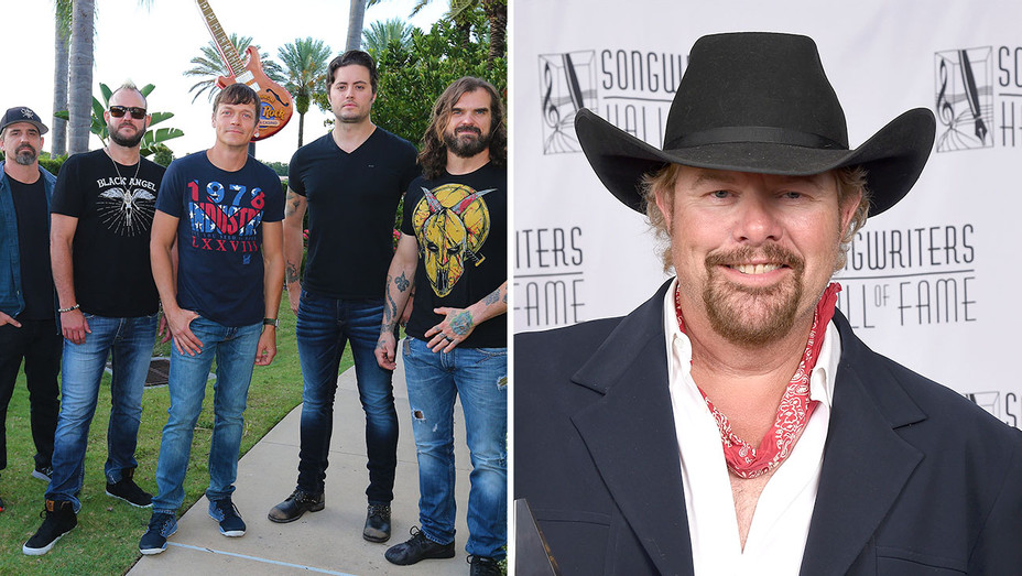 3 Doors Down and Toby Keith -Split-Getty-H 2017