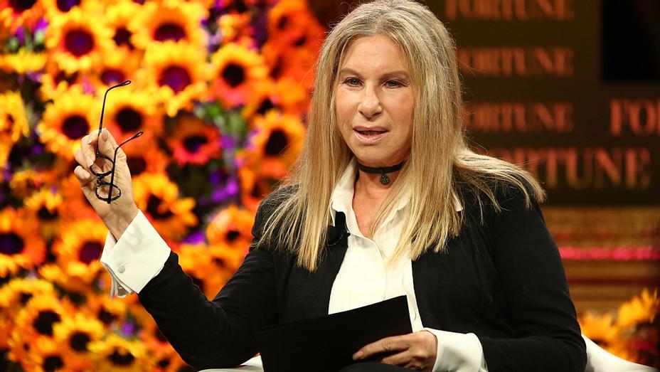Barbara Streisand Serious - Getty - H 2017