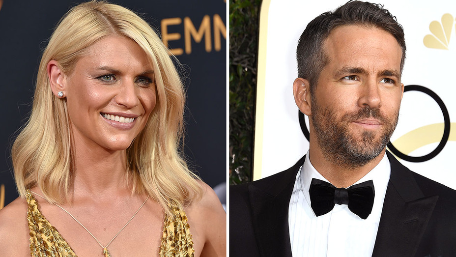 Claire Danes and Ryan Reynolds -Split-Getty-H 2017