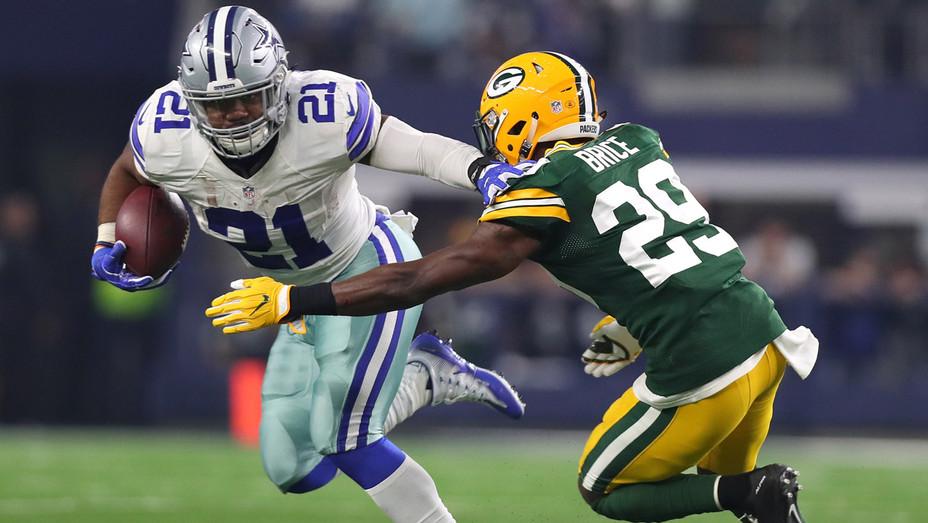 Dallas Cowboys Greenbay Packers Jan 15 2017 - Getty - H 2017