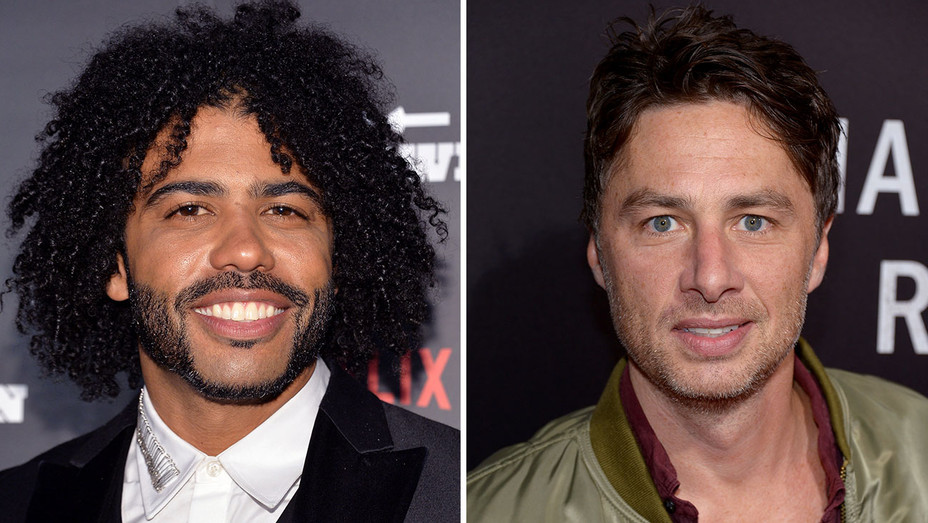 Daveed Diggs and Zach Braff_Split - Getty - H 2017