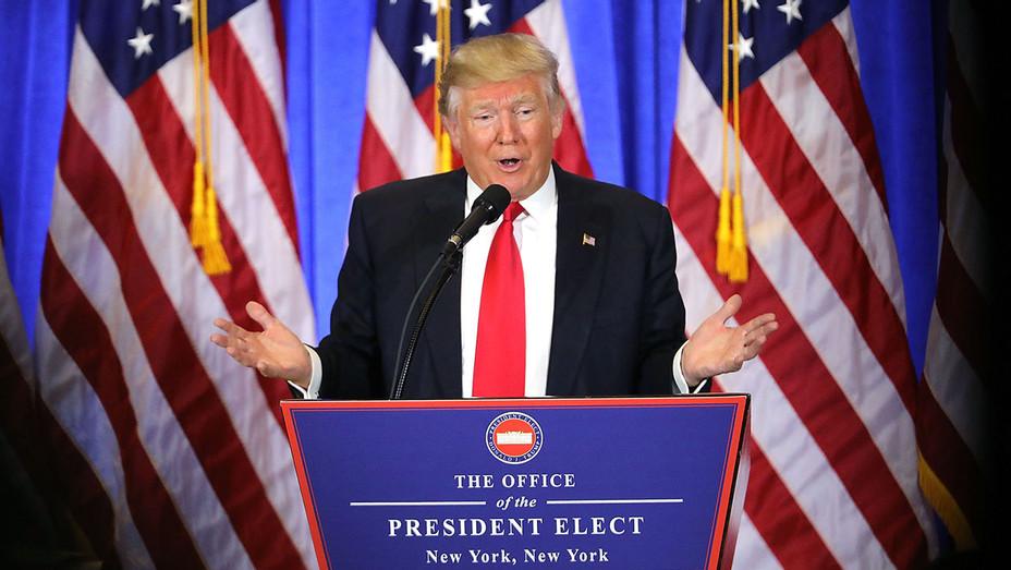 Donald Trump Press Conference 1 - Getty - H 2017