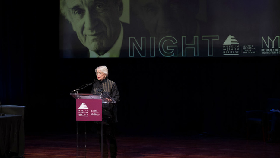 Reading of Elie Wiesel's 'Night' Ellen Burstyn - Publicity - H 2017