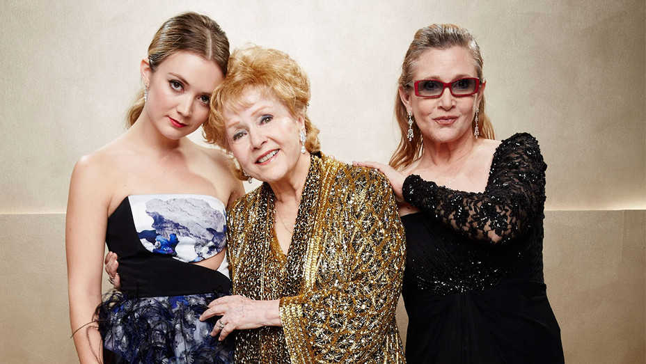 Billie Lourd, Carrie Fisher and Debbie Reynolds - 21st Annual SAG Awards -Getty -H 2016