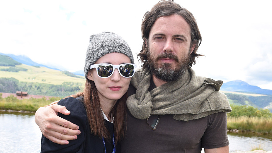 Rooney Mara and actor Casey Affleck - Telluride Film Festival 2016-Getty-H 2016