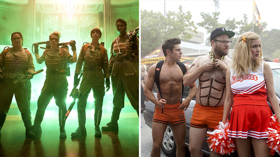 Ghostbusters and  Neighbors 2  Split-H 2017