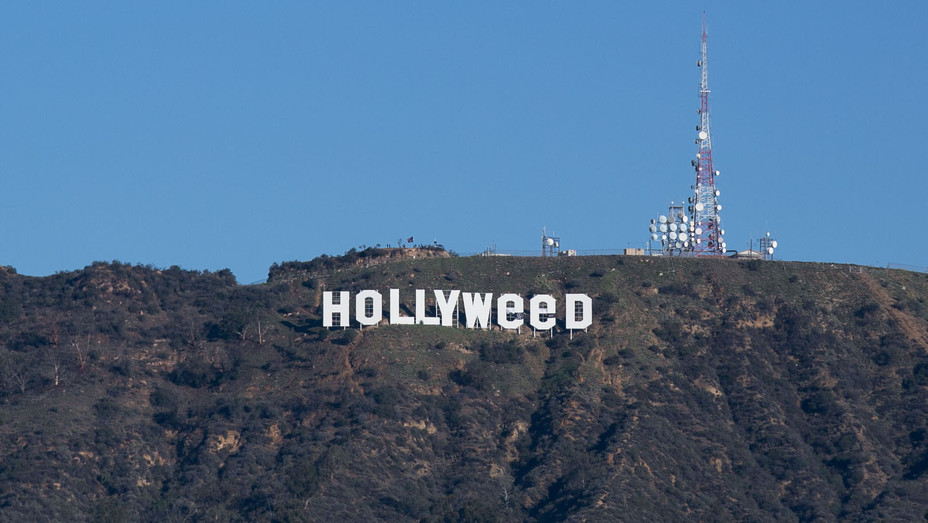 Hollyweed sign 2 - H