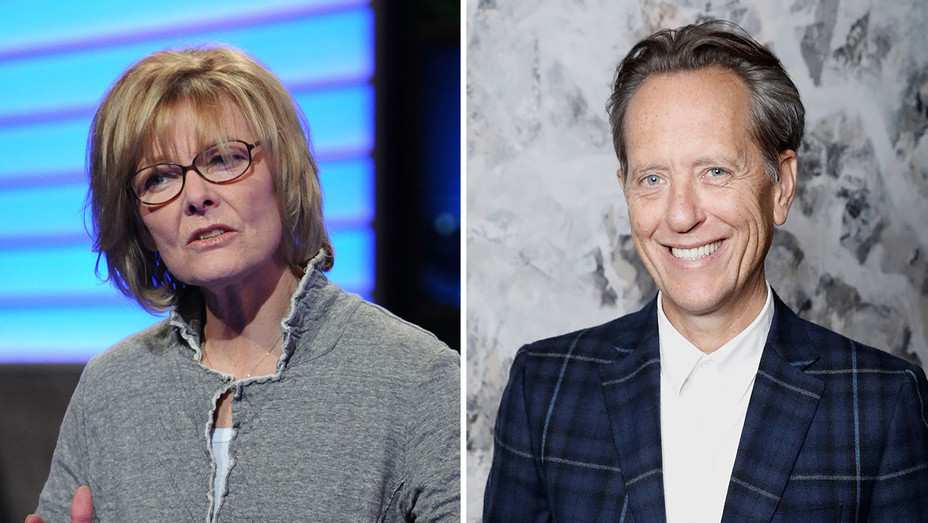 Jane Curtin_Richard Grant_Split - Getty - H 2017