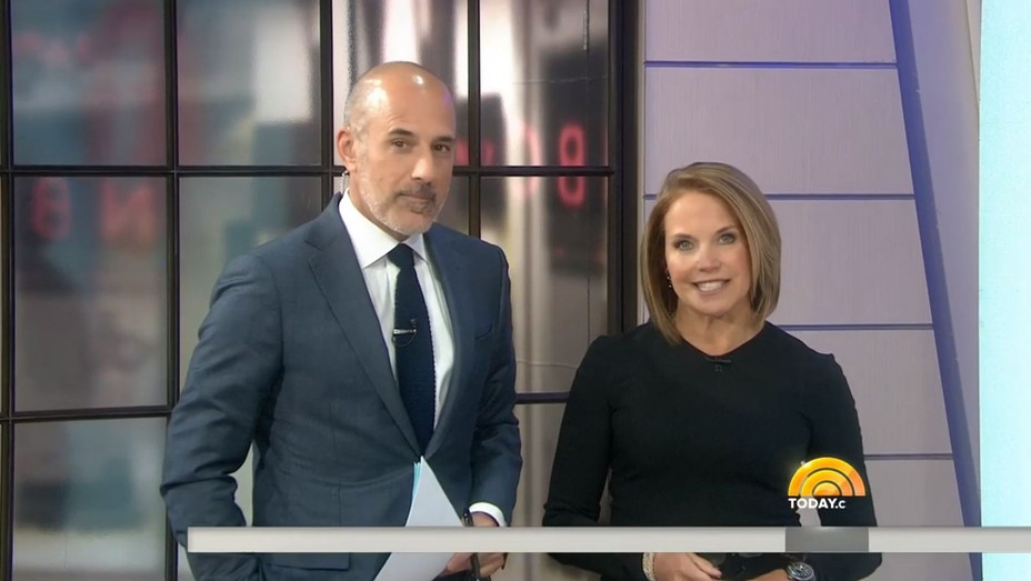 Katie Couric and Matt Lauer on 'Today' - H 2017