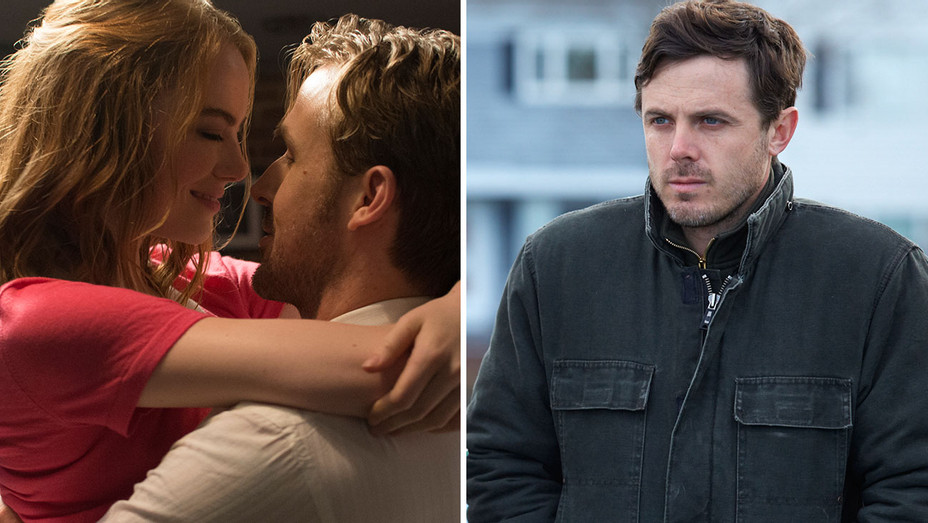 LA LA Land and Manchester by the Sea - Split-Publicity-H 2017