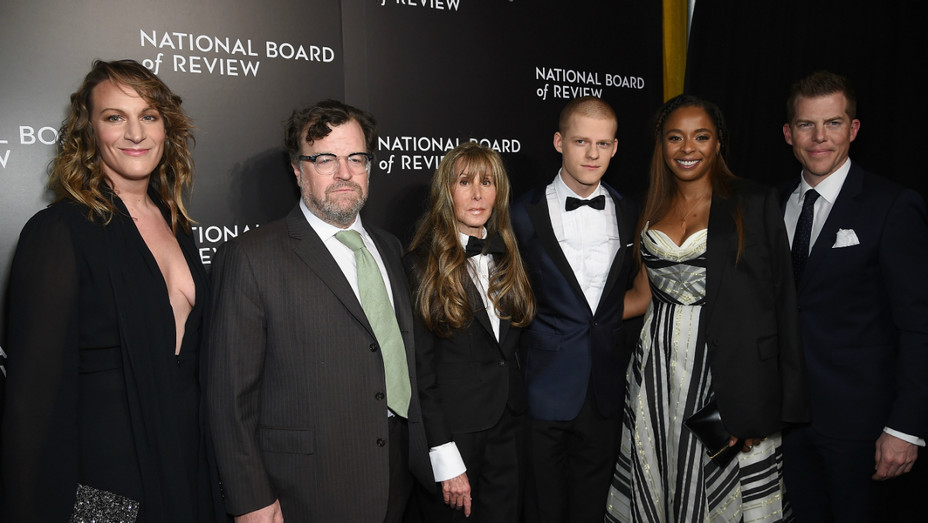 Manchester by the Sea cast at NBR Gala - Getty - H 2016