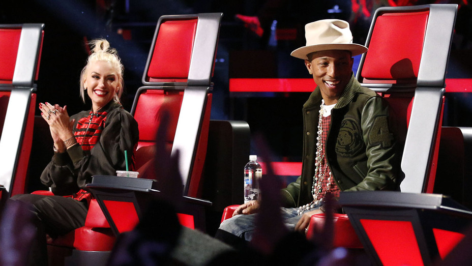 THE VOICE  - Gwen Stefani and Pharrell -Publicity-H 2017