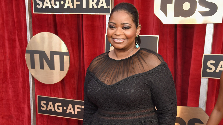 Octavia Spencer SAG Awards - Getty - H 2017