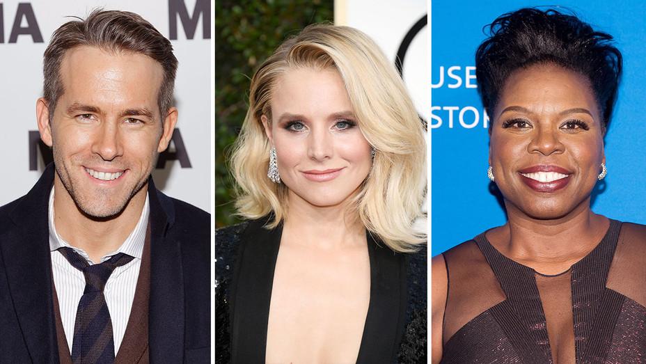 Ryan Reynolds, Kristen Bell, Leslie Jones_Split - Getty - H 2017