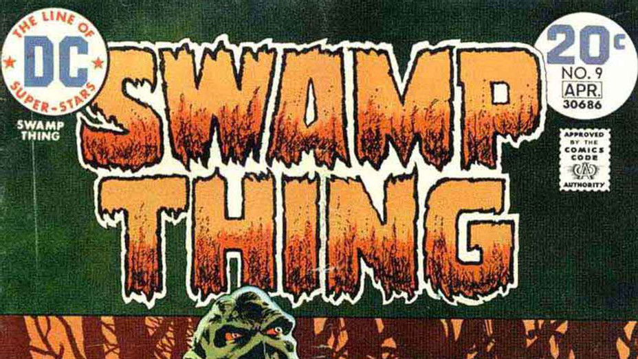 Swamp Thing 9 Cover - P 2017