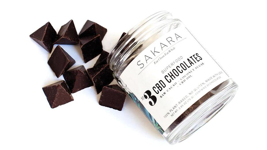 Hollyweed for Health - SAKARA Superfood- CBD Chocolates-H 2017