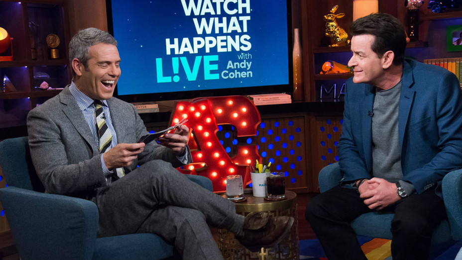 Charlie Sheen Watch What Happens Live - H
