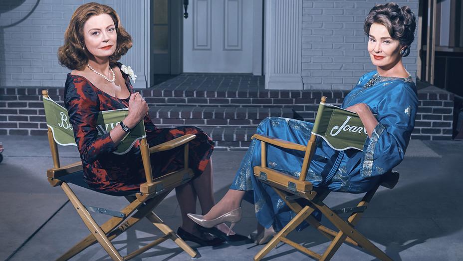 FEUD: BETTE & JOAN Susan Sarandon Jessica Lange - Publicity - H 2017